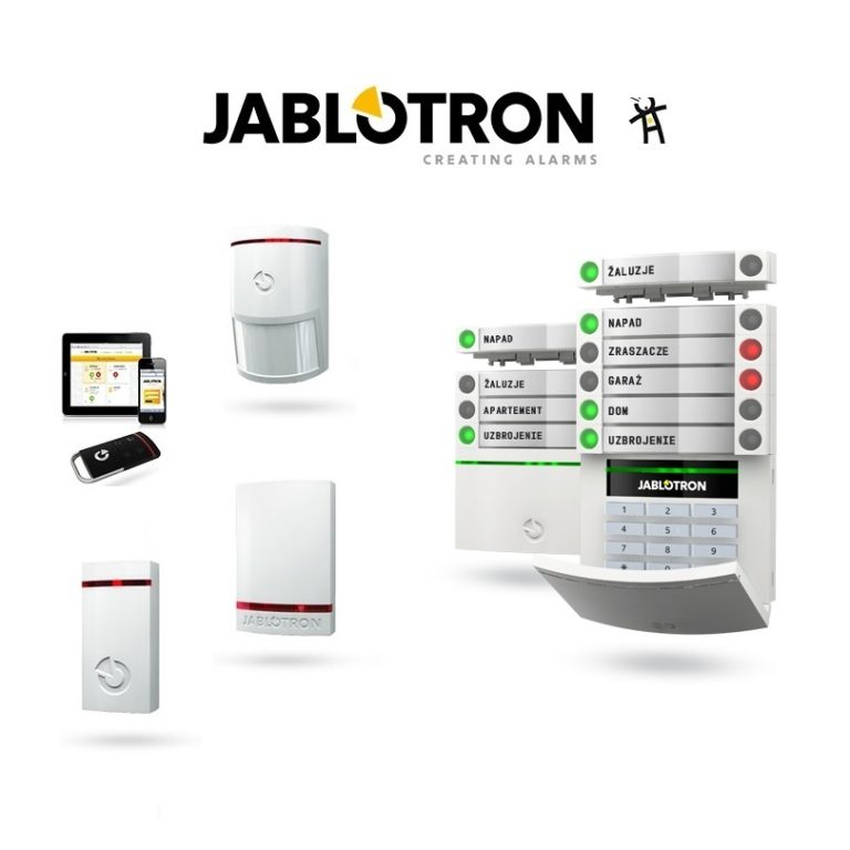 instalacje alarmowe jablotron
